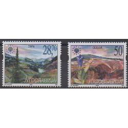 Yougoslavie - 2002 - No 2925/2926 - Environnement