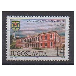 Yugoslavia - 2002 - Nb 2929 - Various Historics Themes