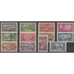 Greater Lebanon - 1926 - Nb 63/72
