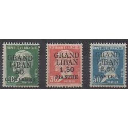 Greater Lebanon - 1924 - Nb 15/17
