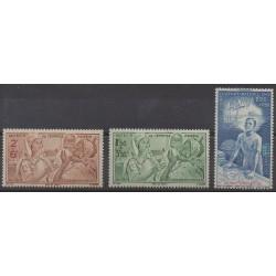 Guiana - 1942 - Nb PA22/PA24 - Childhood