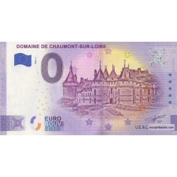 Euro banknote memory - 41 - Domaine de Chaumont-sur-Loire - 2020-2 - Anniversary