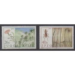 Yougoslavie - 1984 - No 1933/1934 - Environnement