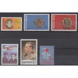 Yugoslavia - 1985 - Nb 1985/1990