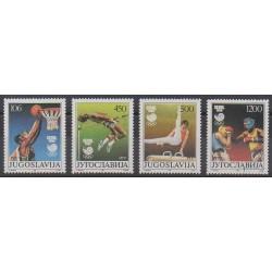 Yougoslavie - 1988 - No 2147/2150 - Jeux Olympiques d'été