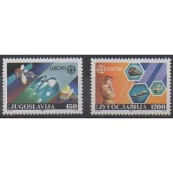 Yougoslavie - 1988 - No 2151/2152 - Télécommunications - Europa