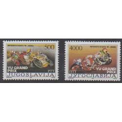 Yugoslavia - 1989 - Nb 2223F/2223G - Motorcycles