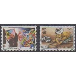 Yugoslavia - 1989 - Nb 2222/2223 - Childhood - Europa