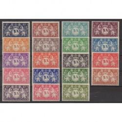 Guiana - 1945 - Nb 182/200
