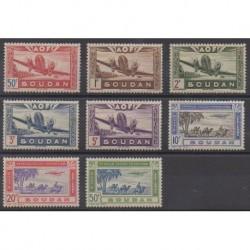 Sudan - 1942 - Nb PA10/PA17