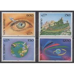 San Marino - 1995 - Nb 1404/1407 - Tourism