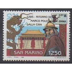 San Marino - 1996 - Nb 1444 - Various Historics Themes