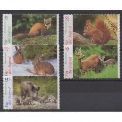 Allemagne - 2006 - No 2362/2366 - Mammifères