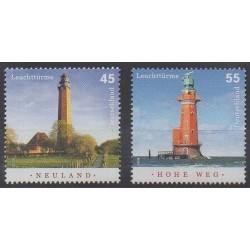 Germany - 2006 - Nb 2376/2377 - Lighthouses