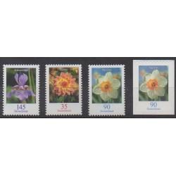 Allemagne - 2006 - No 2330/2333 - Fleurs