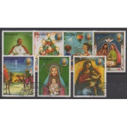 Paraguay - 1984 - Nb 2074/2080 - Christmas - Used