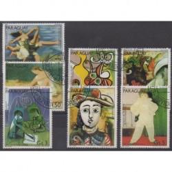 Paraguay - 1981 - No 1878/1884 - Peinture - Oblitérés
