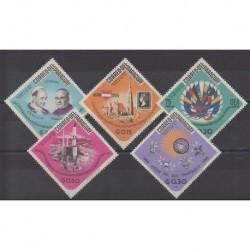 Paraguay - 1966 - Nb 832/836