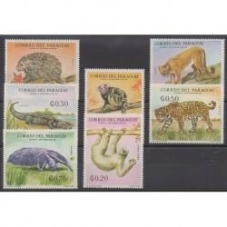 Paraguay - 1969 - Nb 993/999 - Mamals