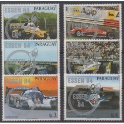 Paraguay - 1984 - Nb 2088/2093 - Cars - Philately