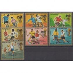 Paraguay - 1984 - Nb 2122/2128 - Football