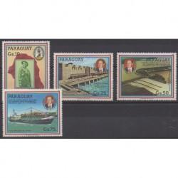 Paraguay - 1985 - Nb 2183/2186