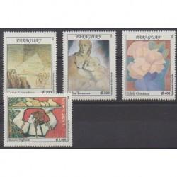 Paraguay - 1998 - Nb 2749/2752 - Paintings