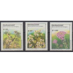 Paraguay - 1998 - Nb 2761/2763 - Flowers