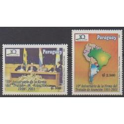 Paraguay - 2001 - No 2825/2826