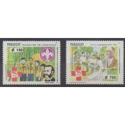 Paraguay - 1994 - Nb 2676/2677 - Health - Scouts