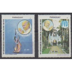 Paraguay - 1994 - Nb 2678/2679 - Pope