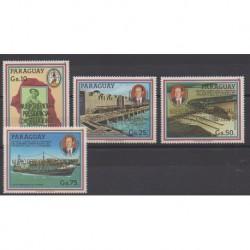 Paraguay - 1988 - Nb 2369/2372 - Various Historics Themes