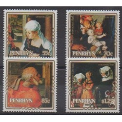 Penrhyn - 1989 - Nb 358/361 - Christmas