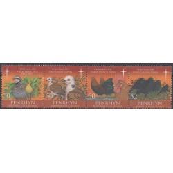 Penrhyn - 2011 - Nb 497/500 - Christmas - Birds