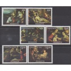 Penrhyn - 2012 - Nb 501/506 - Christmas