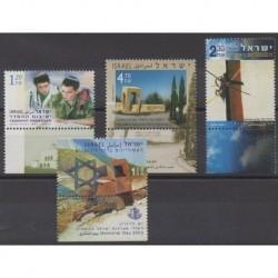 Israel - 2003 - Nb 1651/1654 - Various Historics Themes