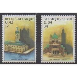 Belgium - 2001 - Nb 2997/2998 - Religion
