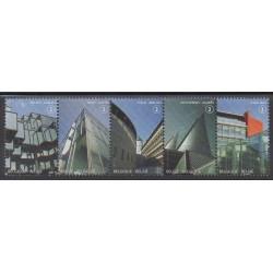 Belgium - 2011 - Nb 4141/4145 - Architecture