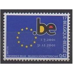 Belgium - 2001 - Nb 3008 - Europe