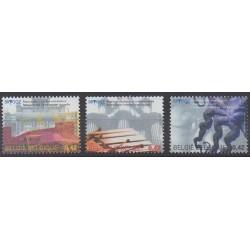 Belgium - 2002 - Nb 3053/3055 - Art