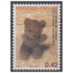 Belgium - 2002 - Nb 3090 - Childhood