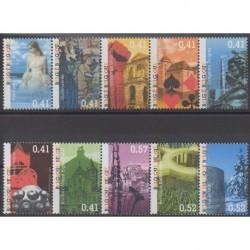 Belgium - 2003 - Nb 3173/3182 - Sights