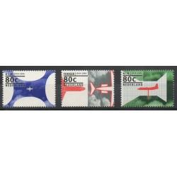 Pays-Bas - 1994- No 1472/1474 - Avions