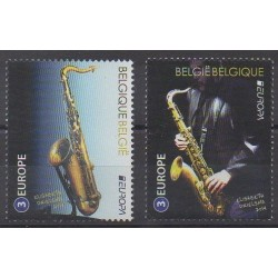 Belgium - 2014 - Nb 4407/4408 - Music - Europa