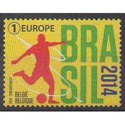 Belgium - 2014 - Nb 4402 - Soccer World Cup
