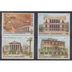 Greece - 1993 - Nb 1828/1831 - Monuments