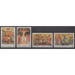 Greece - 1994 - Nb 1833/1836 - Easter
