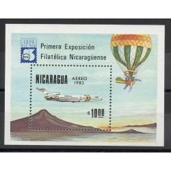 Nicaragua - 1983- No BF 159 - Ballons - dirigeables