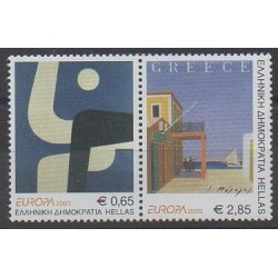 Greece - 2003 - Nb 2133/2134 - Art - Europa