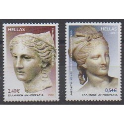 Greece - 2007 - Nb 2412/2413 - Art